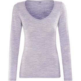 Icebreaker Siren Ondergoed bovenlijf Dames grijs/violet